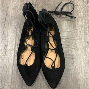Nine West laced-up flats